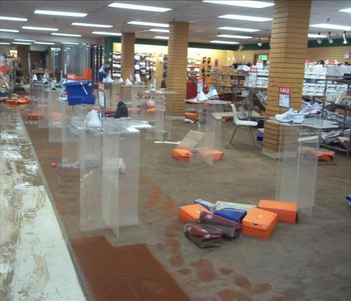 Water Damage – Lenoir Retail Facility Before