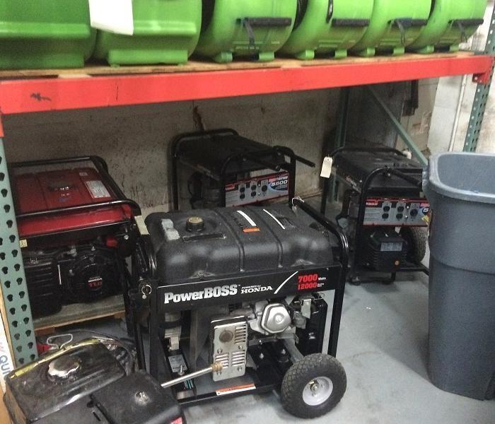 Storm Damage site in Hudson Required Generators