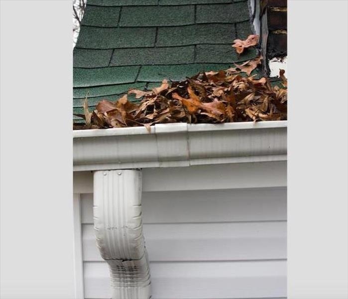 Water Removal Linked to Clogged Downspouts in Stony Point | SERVPRO